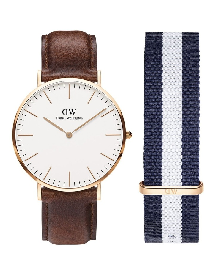 Gift Set - St Mawes 40mm Watch   Glasgow Nato Strap image 1