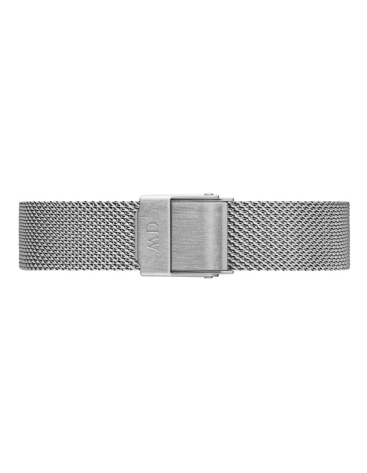 Gift Set - Sterling 28mm Watch   Silver Small Bracelet image 4