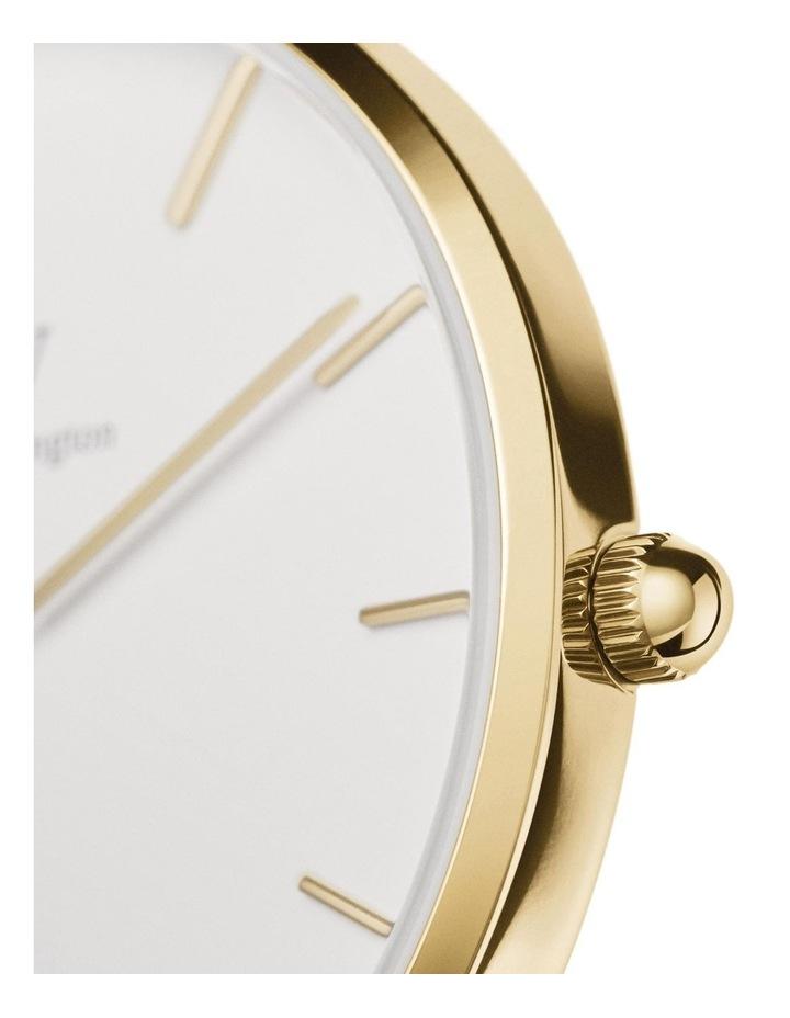 Gift Set - Evergold 28mm Watch   Gold Small Bracelet image 3