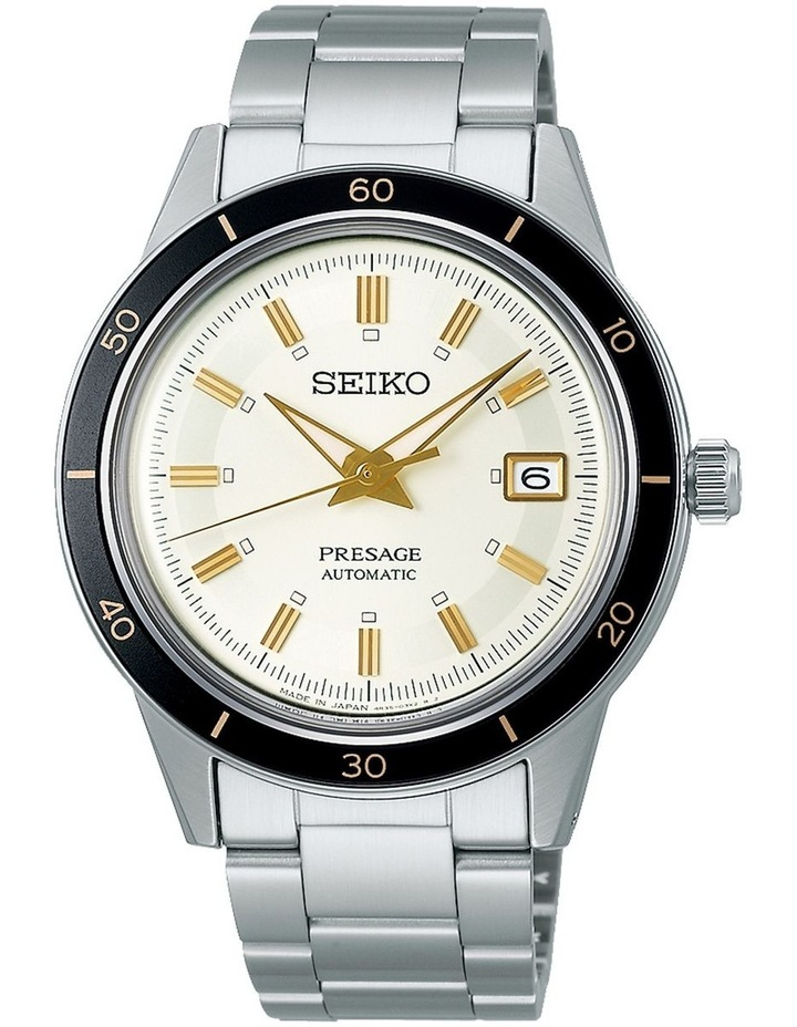 Presage Style 60S White Dial Silver Watch image 1