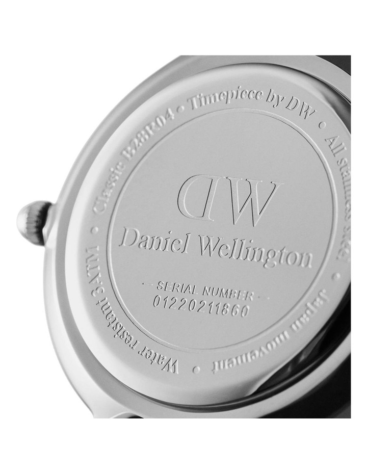 Classic St Mawes 40mm Silver Watch image 4