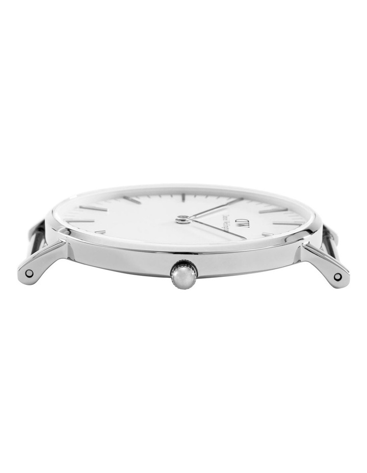 Classic St Mawes 40mm Silver Watch image 5
