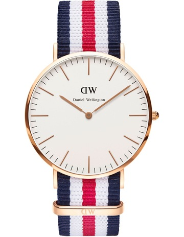 fab8064638 Limited stock. Daniel WellingtonClassic Canterbury 40mm RG White Dial Watch