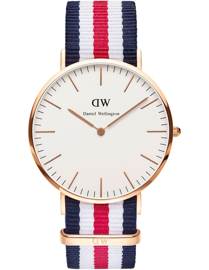 Classic Canterbury 40mm RG White Dial Watch image 1