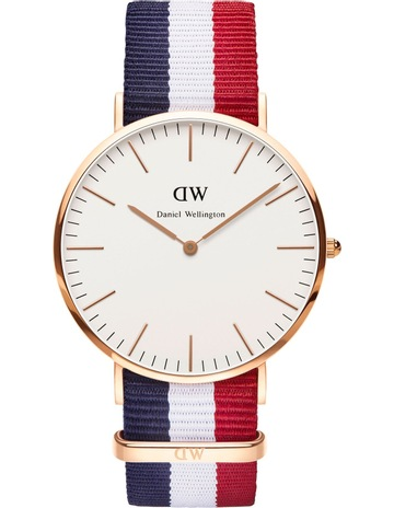 f51e95b0f07f Daniel WellingtonClassic Cambridge 40mm Rose Gold Watch. Daniel Wellington  Classic Cambridge 40mm Rose Gold Watch