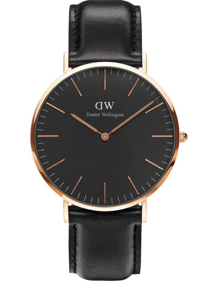 Classic Sheffield 40mm Rose Gold Watch image 1