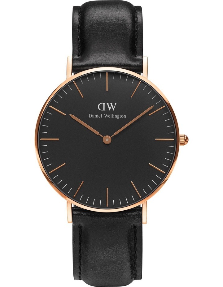 Classic Sheffield 36mm Rose Gold Watch image 1