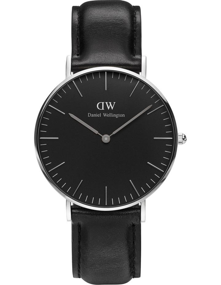 5d9a11e8632d DW00100145 Classic Black Silver Watch image 1