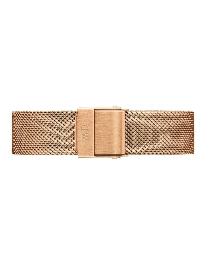 Petite Melrose 32mm White/Rose Gold Stainless Steel Quartz Watch image 2