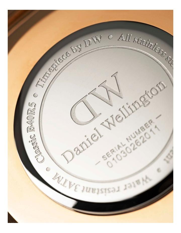 Petite Melrose 32mm White/Rose Gold Stainless Steel Quartz Watch image 5