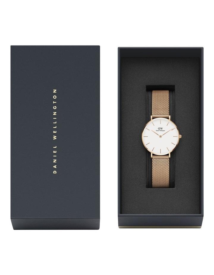 Petite Melrose 32mm White/Rose Gold Stainless Steel Quartz Watch image 7