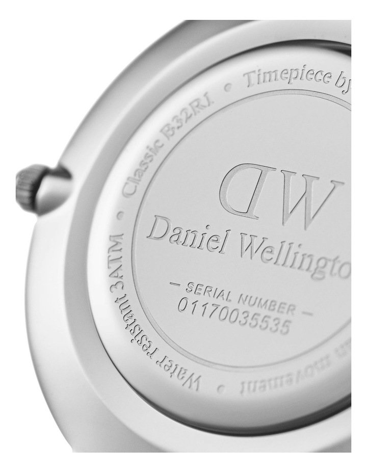 Petite Sterling 32mm Silver Watch image 3