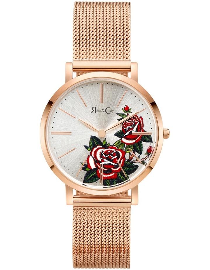 Art Series Pink Rose Art Series Pink Rose Rose Gold Watch image 1