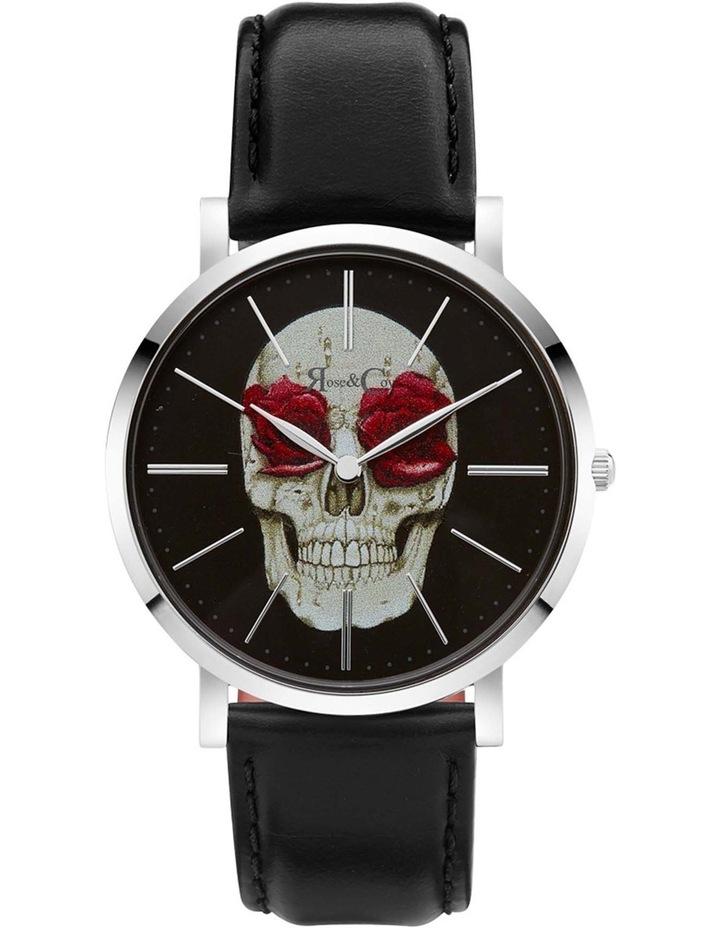 Art Series Skull & Rose Black Watch image 1
