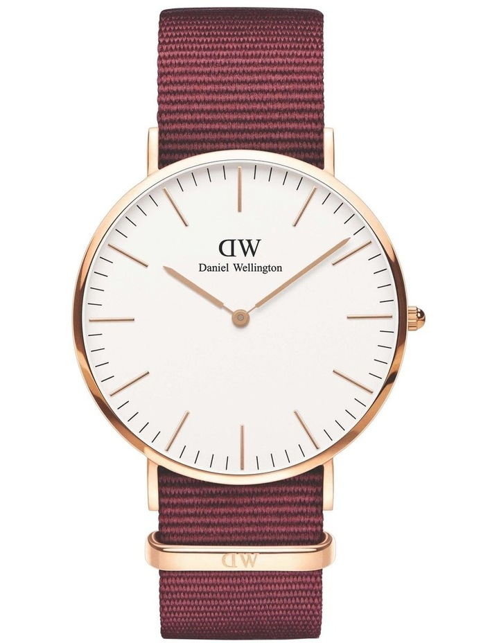 Roselyn 40mm White Dial Rose Gold Watch image 1