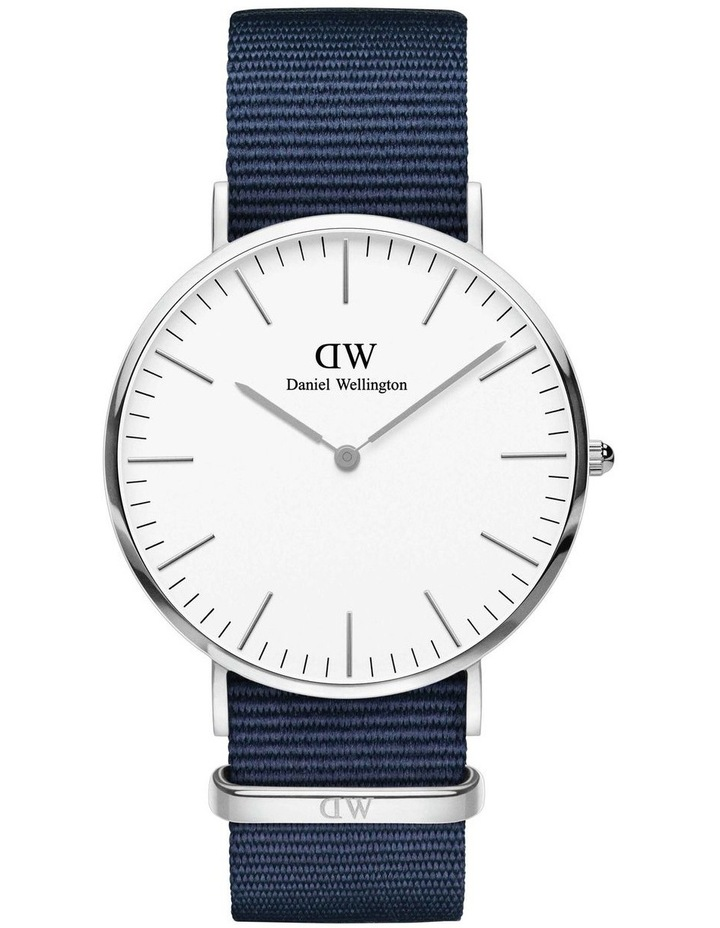 Classic Bayswater 40mm Silver Watch image 1