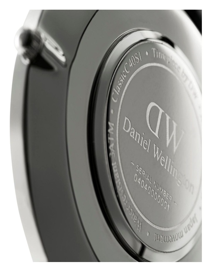 Classic Bayswater 40mm Silver Watch image 4
