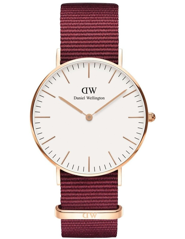 Roselyn 36mm White Dial Rose Gold Roselyn Watch image 1
