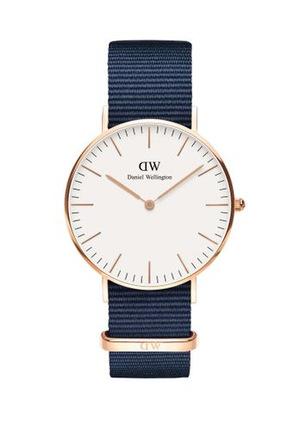 Daniel Wellington - Bayswater 36mm White Dial Rose Gold Watch