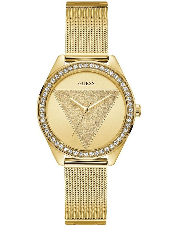 Tri Glitz Gold Stainless Steel Luxury Watch W1142L2 image 1