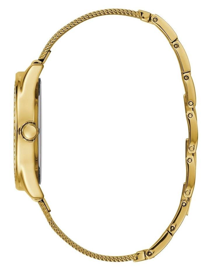 Tri Glitz Gold Stainless Steel Luxury Watch W1142L2 image 4