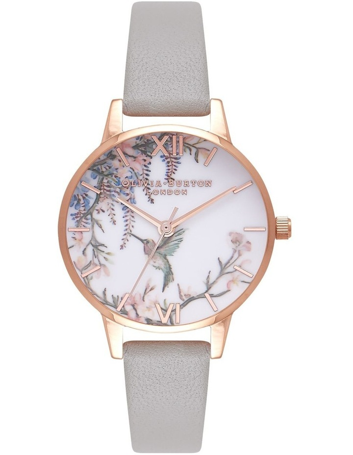 Painterly Prints Rose Gold & Grey Watch OB16PP22 image 1
