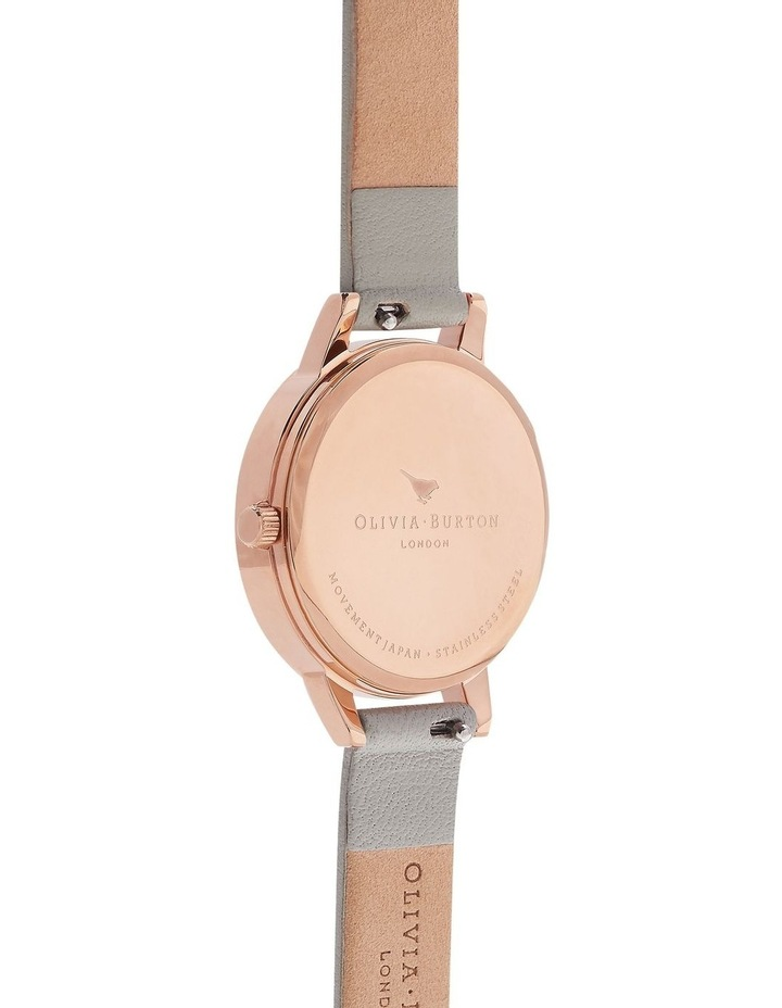 Painterly Prints Rose Gold & Grey Watch OB16PP22 image 2