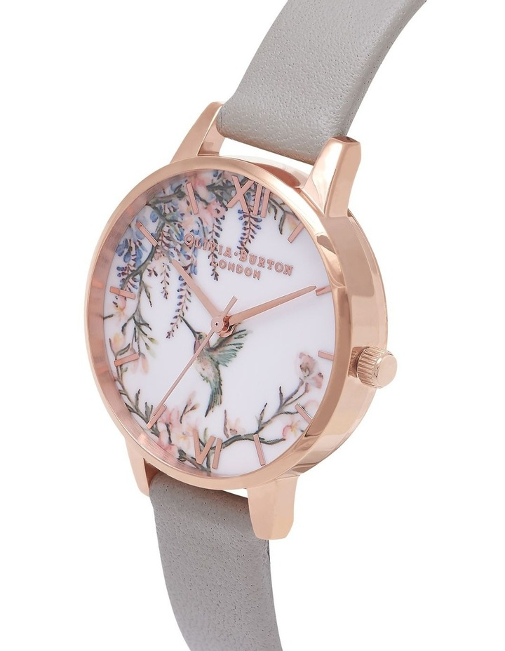 Painterly Prints Rose Gold & Grey Watch OB16PP22 image 3