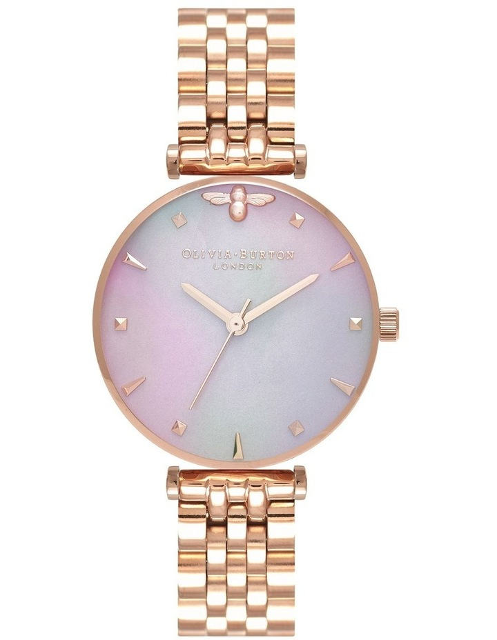 Queen Bee Rose Gold & Mother of Pearl Watch OB16AM152 image 1