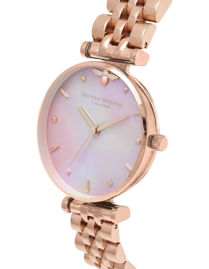 Queen Bee Rose Gold & Mother of Pearl Watch OB16AM152 image 3