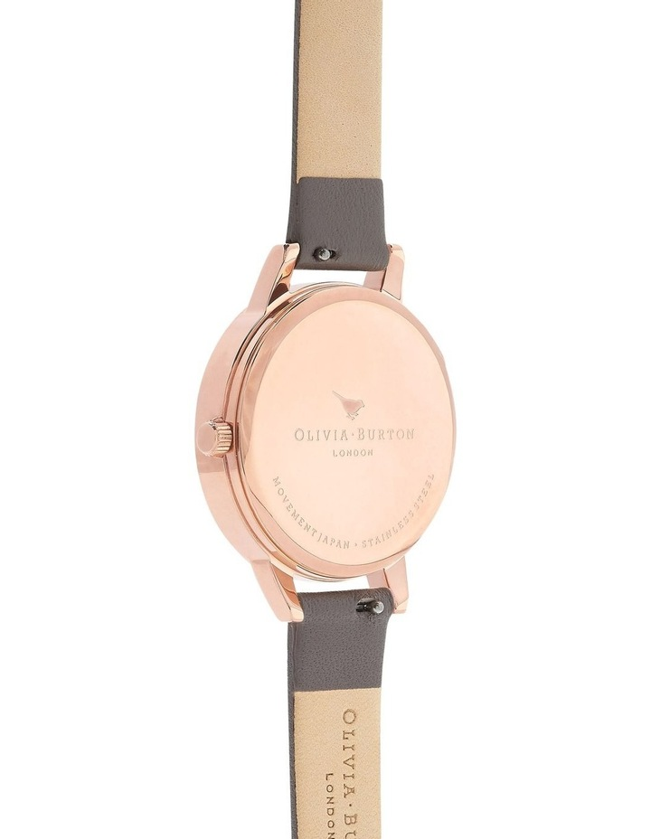 Marble Florals Rose Gold & Grey Watch OB16MF08 image 2