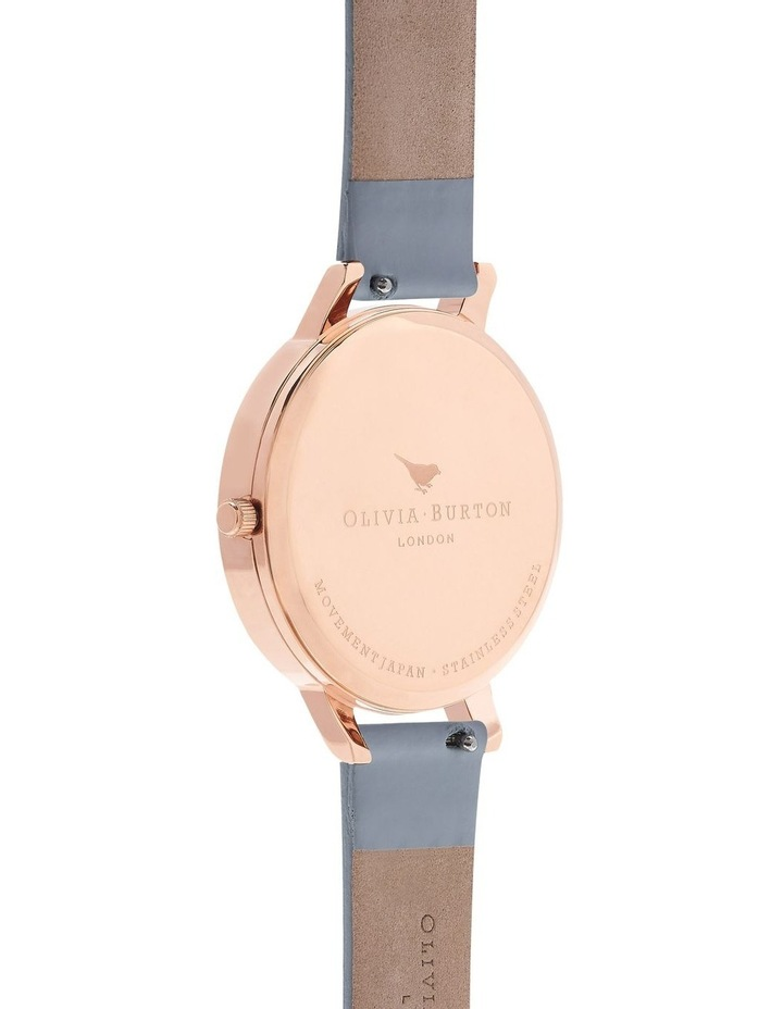 Marble Florals Rose Gold & Chalk Blue Watch image 2