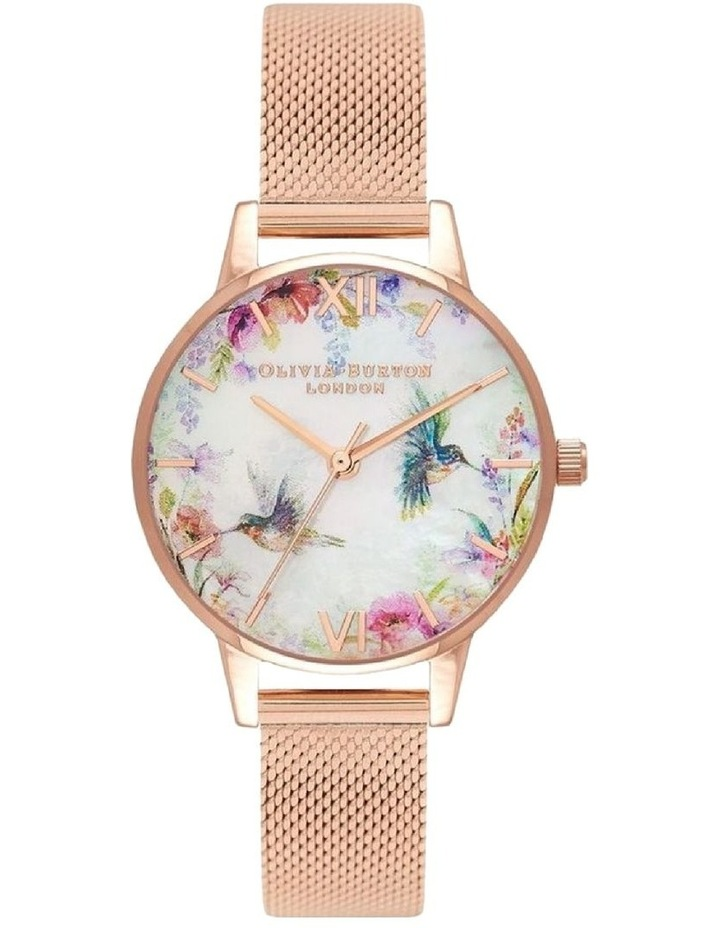 Painterly Prints Rose Gold Watch OB16PP49 image 1