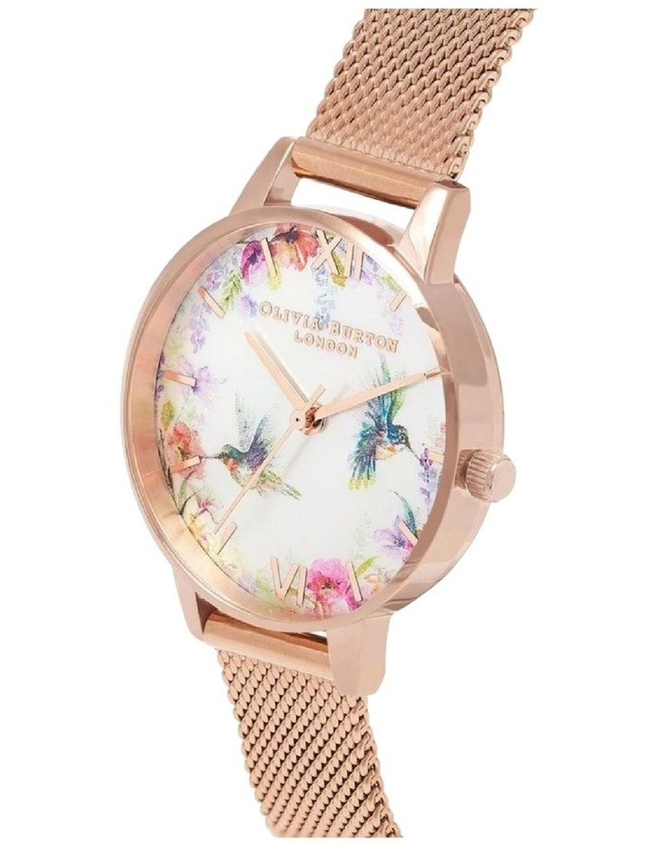 Painterly Prints Rose Gold Watch OB16PP49 image 2