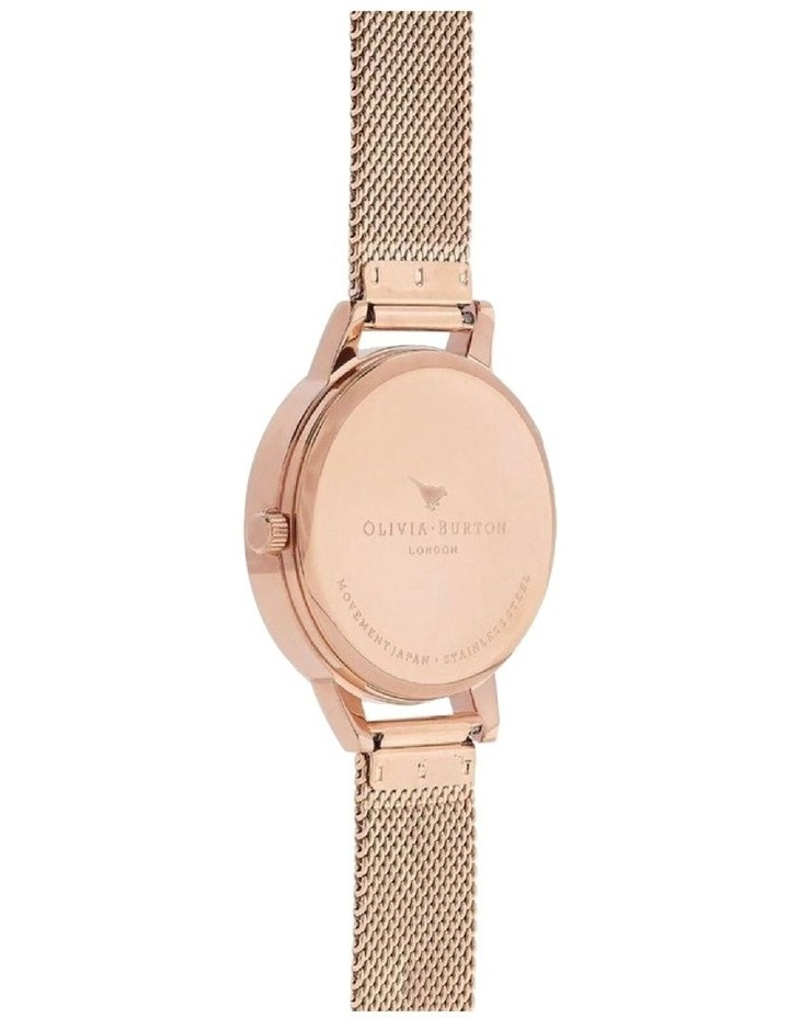 Painterly Prints Rose Gold Watch OB16PP49 image 3