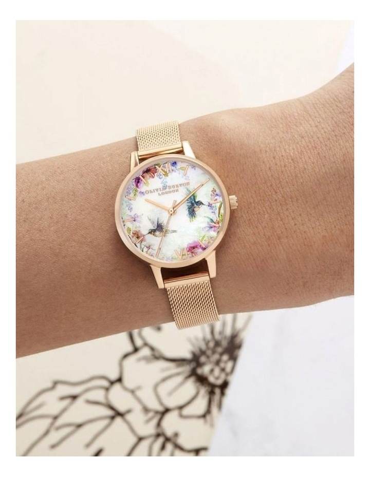 Painterly Prints Rose Gold Watch OB16PP49 image 4