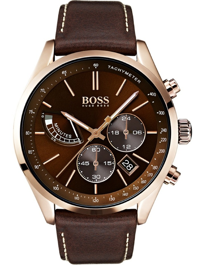 65068e33a04b Hugo Boss | Grand Prix Brown Watch | MYER