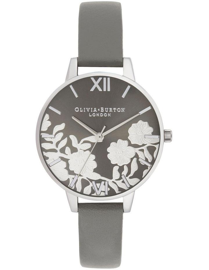 Lace Detail Grey Watch OB16MV96 image 1