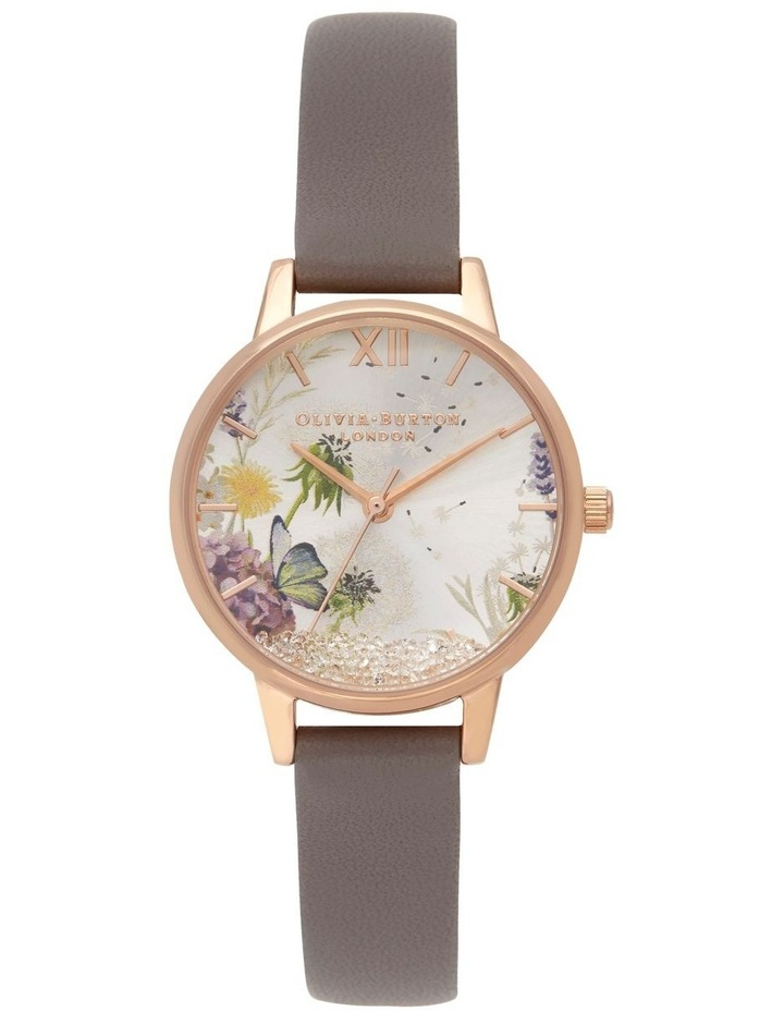 Water Colour Florals Grey Watch image 1