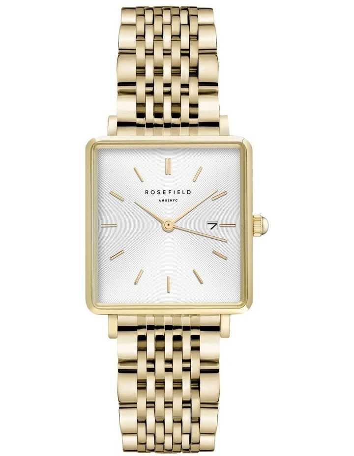 QWSG-Q09 The Boxy Gold Watch image 1