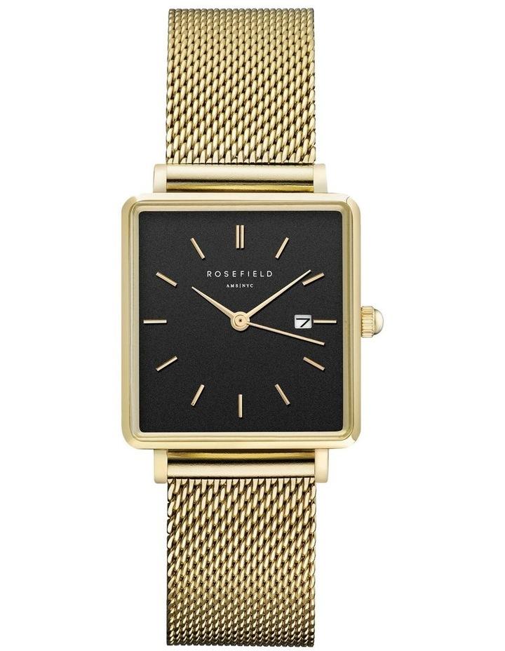 QBMG-Q06 The Boxy Gold Watch image 1