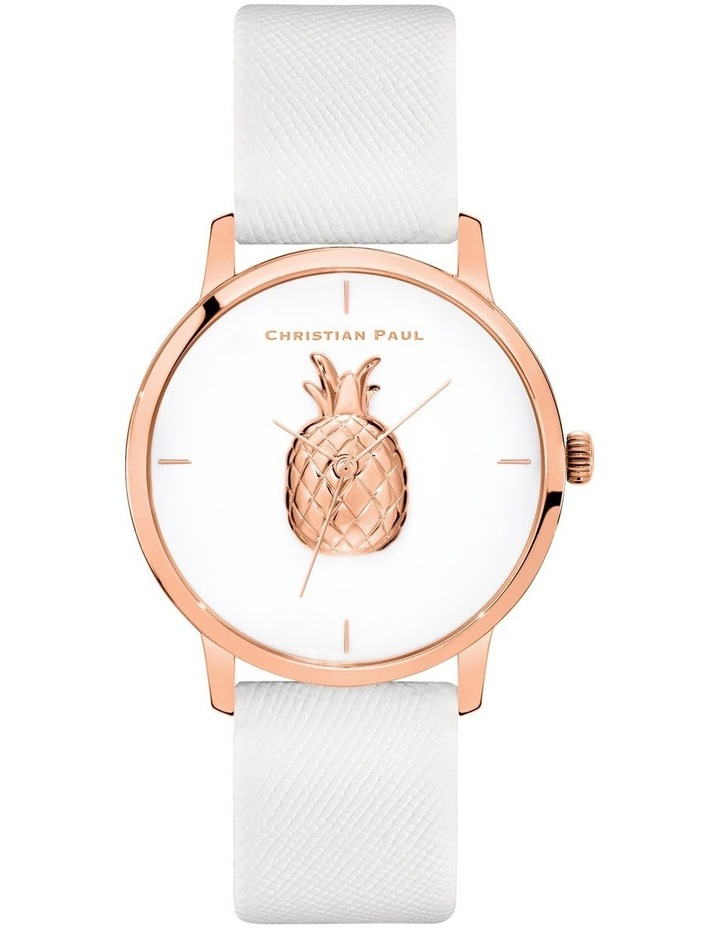 181PWR4030 Opal Pineapple Rose Gold Watch image 1