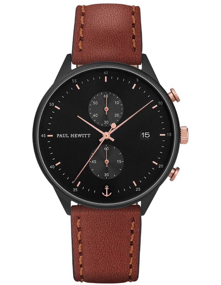 PH-C-B-BSR-1M Chrono Line Brown Watch image 1