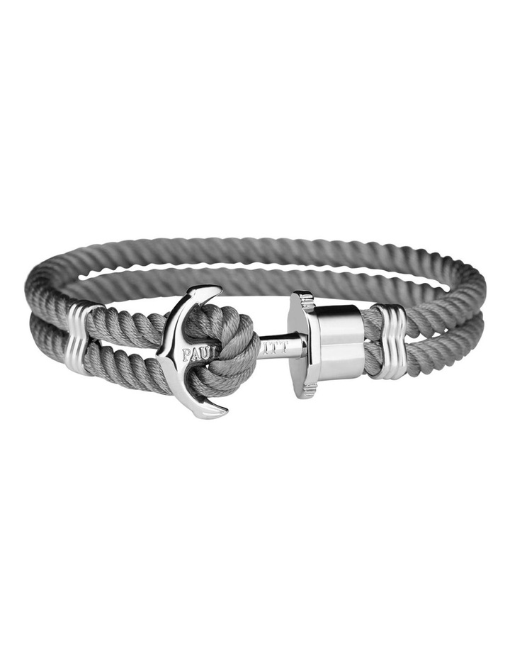 PH-PH-N-S-Gr-M Anchor Bracelet Phrep Grey image 1