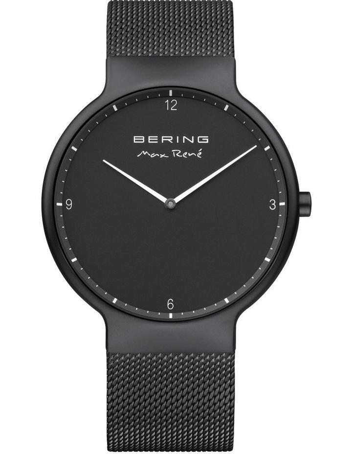 15540-123 Mesh Strap Black Watch image 1