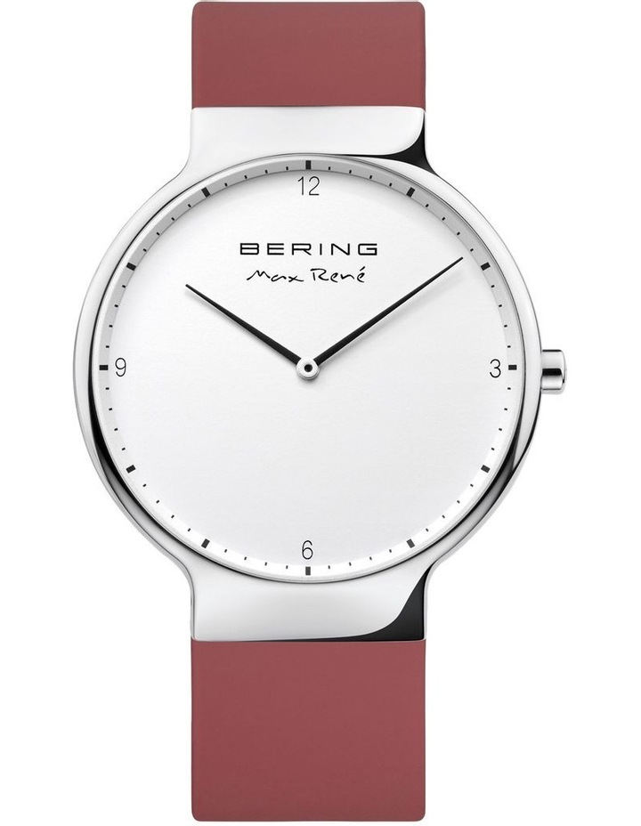 15540-500 Silicone Strap Red Watch image 1