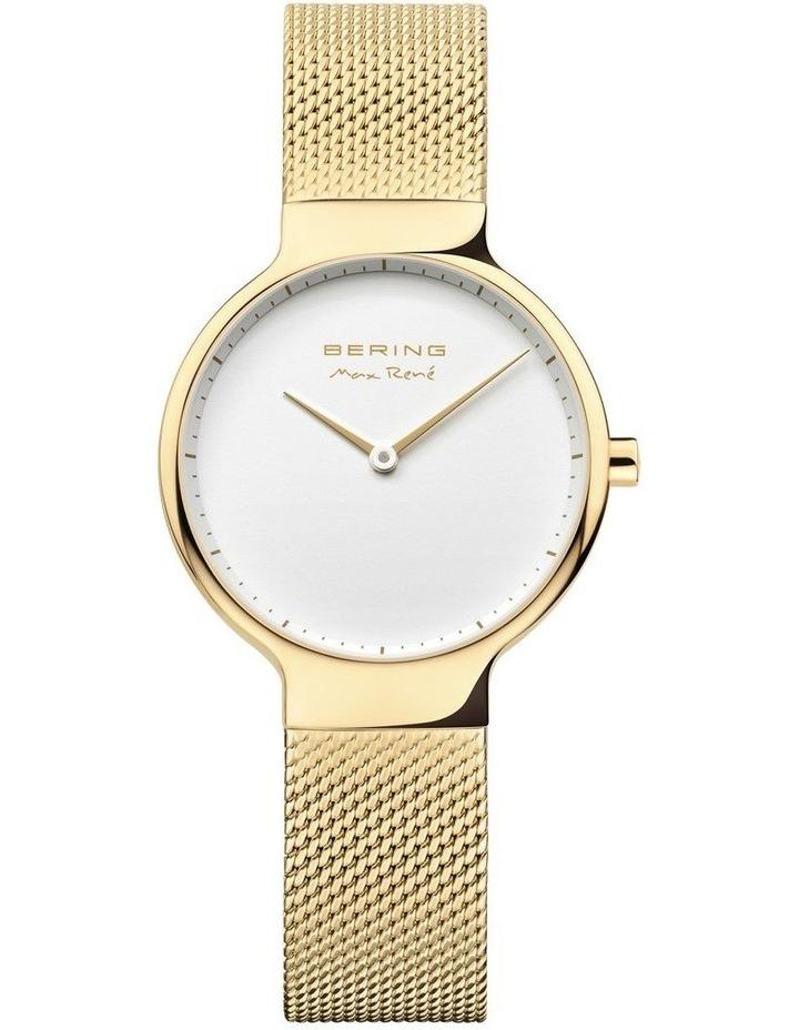 15531-334 Mesh Strap Gold Watch image 1