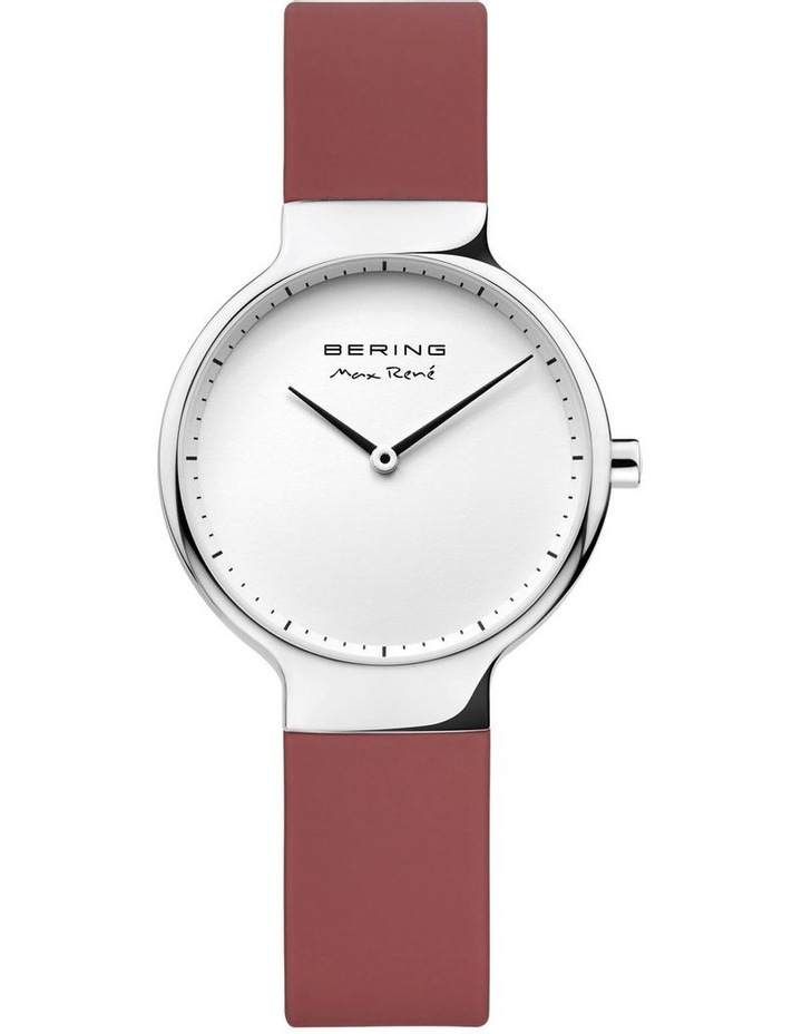 15531-500 Silicone Strap Red Watch image 1