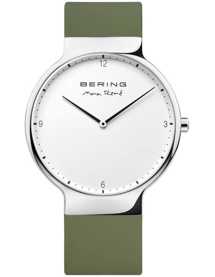 15540-800 Silicone Strap Khaki Watch image 1