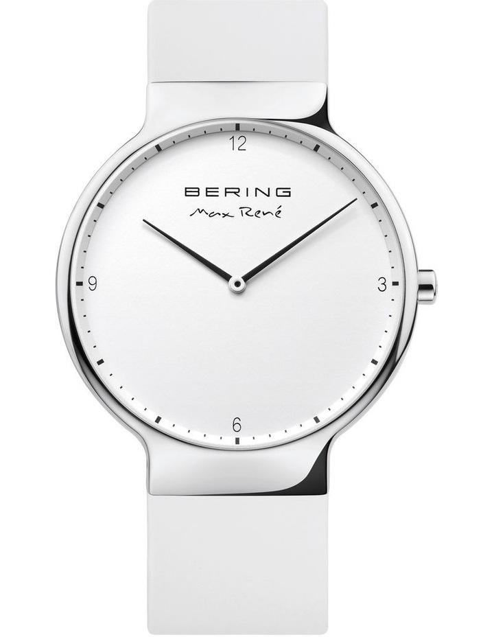 15531-904 Silicone Strap White Watch image 1